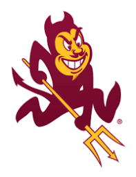 Image result for arizona state university logo